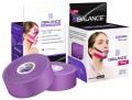 Кинезио тейп для лица BB FACE TAPE™ шелк 2,5см*10м фиолетовый