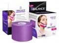 Кинезио тейп для лица BB FACE TAPE™ шелк 5см*5м фиолетовый
