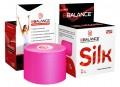 Кинезио тейп шёлковый (вискоза) BBTape ICE MAX 5см*5м розовый