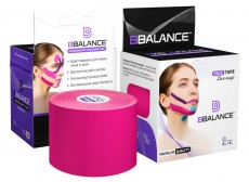 Кинезио тейп для лица BB FACE TAPE™ 5см*5м розовый