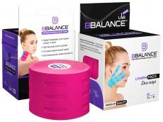 Тейп для лица с перфорацией BB LYMPH FACE™ 5см*5м розовый