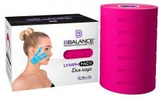 Тейп для лица с перфорацией BB LYMPH FACE™ 10см*5м розовый