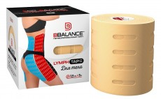 Перфорированный тейп для тела BB LYMPH TAPE™ 7,5см*5м бежевый