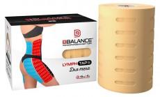 Перфорированный тейп для тела BB LYMPH TAPE™ 10см*5м бежевый