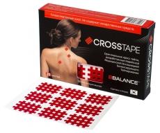 Кросс тейпы BBTape BB CROSS TAPE красный (размер A)
