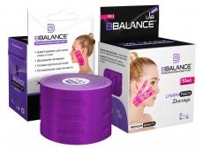 Тейп для лица с перфорацией BB LYMPH FACE™ шелк 5см*5м фиолетовый