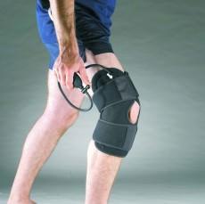Хладо - компрессионный бандаж на колено Lumark