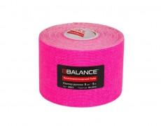 Кинезио тейп флуоресцентный BBTape Fluro 5см*5м розовый
