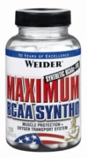 Аминокислоты Weider Maximum BCAA Syntho 120 капсул