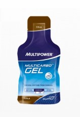 Энергетический гель Multipower Multi Carbo Gel & Guarana 40 гр