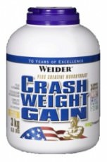 Гейнер с креатином Weider Crash Weight Gain 3000 гр