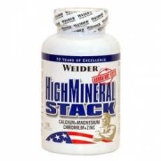 Минералы Weider High Mineral Stack 120 капсул