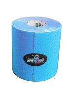 Кинезио тейп BBTape MAX 7,5см*5м голубой