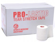 Легкий эластичный тейп Cramer Pro-Lastic Tear Stretch Tape 7,5 см x 6,9 м